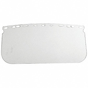 Faceshield Window,Polycarbonate,8x15.5In