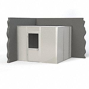 PORTA-KING Modular InPlant Office,2Wall,10x10,Vinyl ...