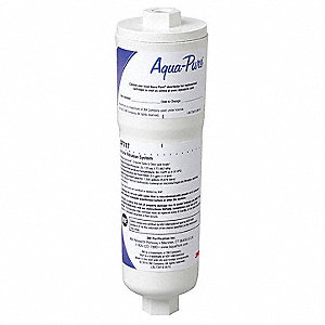 Inline Filter,Ice Maker,8-3/8x2-1/4In