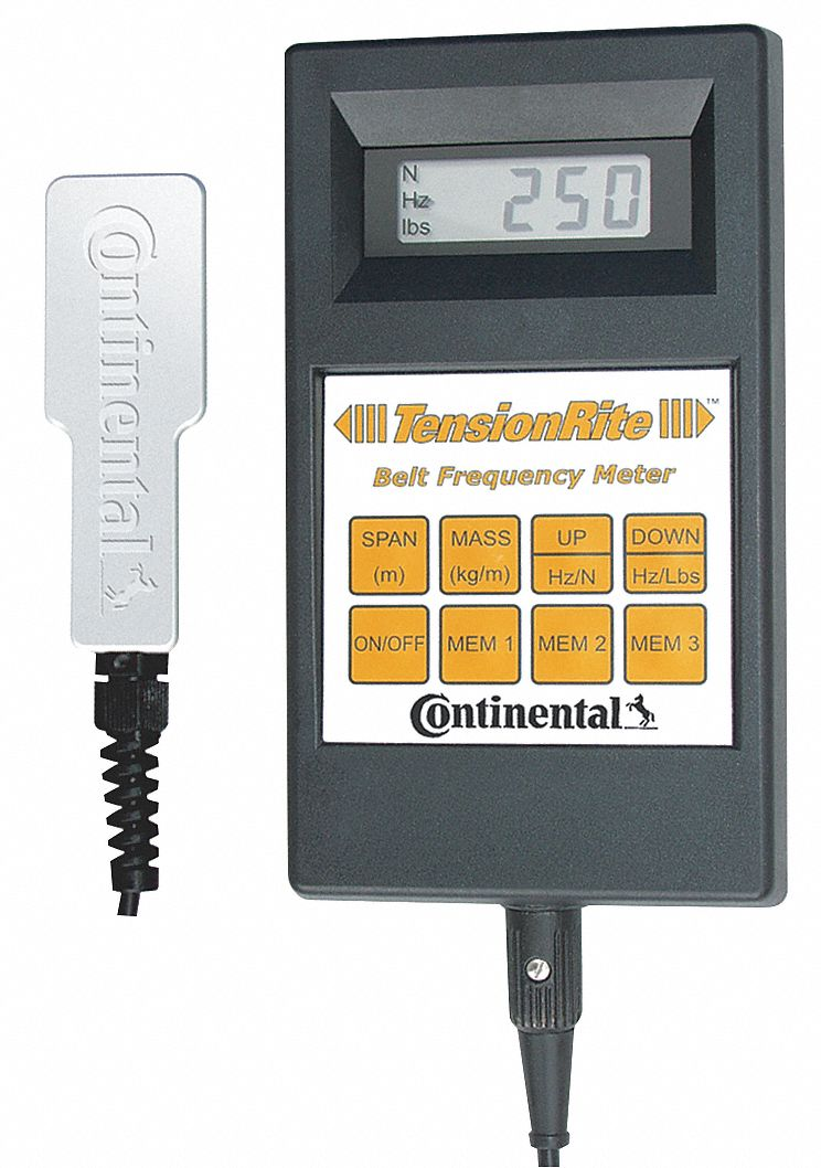 Belt tension meter