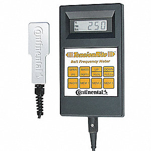 TensionRite Belt Frequency Meter