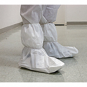 Boot Covers,XL,White,PK50