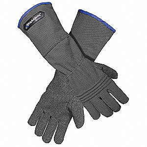 Uncoated Cut Resistant Gloves, ANSI/ISEA Cut Level 5, Dyneema® Lining, Gray, L, PR 1