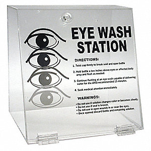 Double Eye Wash Station