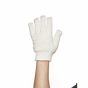 Heat Resistant Gloves, Nomex III, Anti-Static, 700°F Max. Temp., One Size Fits Most, PR 1