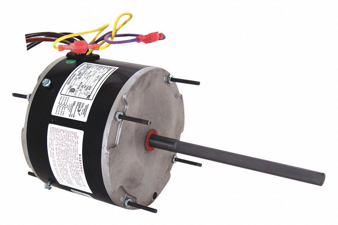 Century 1 3 to 1 6 hp condenser fan motor permanent split for Ao smith motor catalog