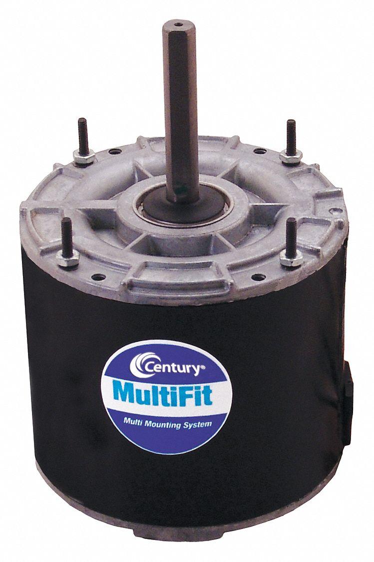 Century 1 8 to 1 12 hp condenser fan motor permanent split for Ao smith motor catalog