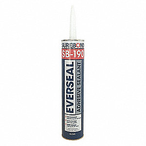 Pick-Proof Adhesive Sealant Clear, Sealant Application: Multipurpose/Construction, 10.3 oz. Size