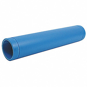 Pipe,4 In,10 Feet,Polypropylene,Blue