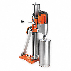 Diamond Coring Rig,3 Hp,120  V,15 A,