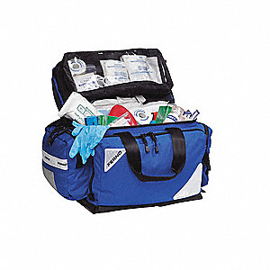 EMS/Trauma Kit,Blue,Dupont Cordura