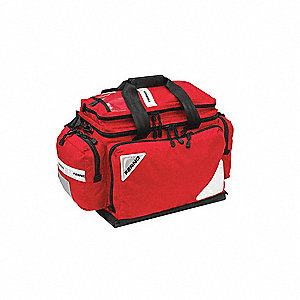 BLS Kit w/Trauma Bag,22 Lx12 Wx15 H,Or