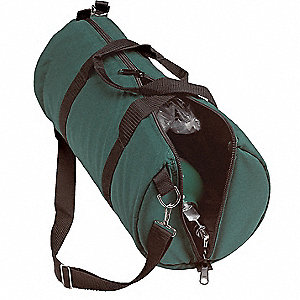 Duffel Bag,Oxygen,21-1/2 W x8 In Dia,Grn