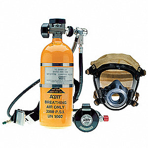 Pressure Demand Airline Respirator with Escape Bottle