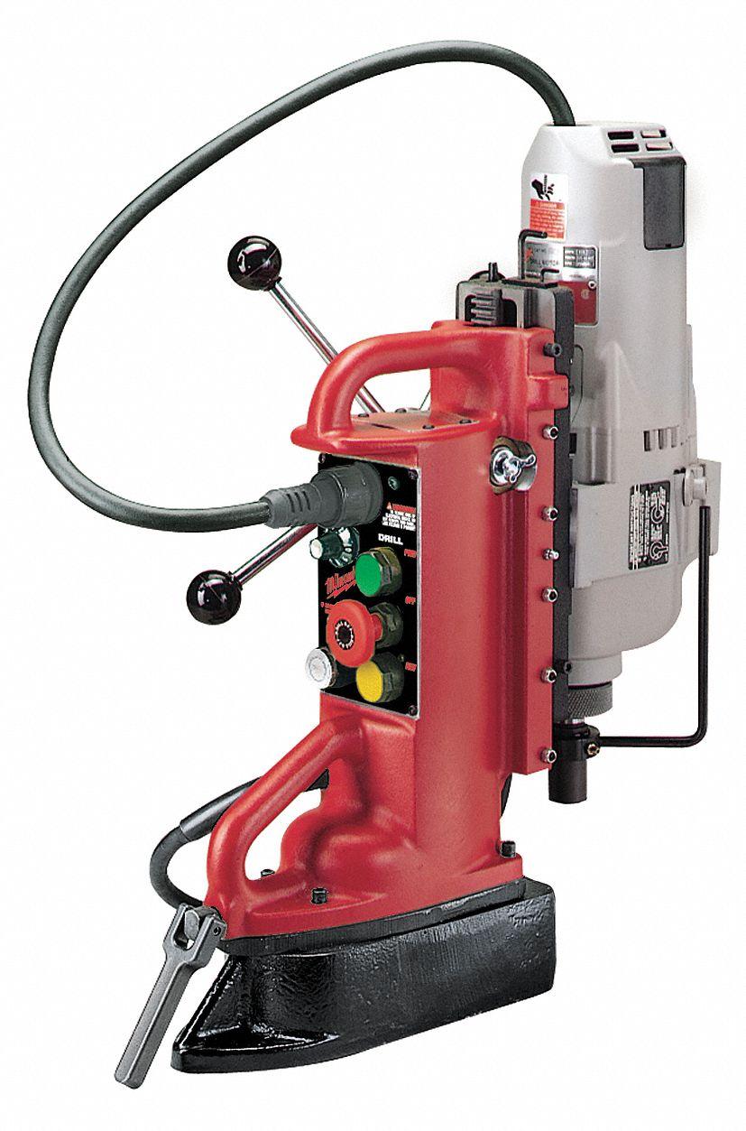Milwaukee magnetic drill press 120vac 1 1 4 capacity for Milwaukee motor vehicle department