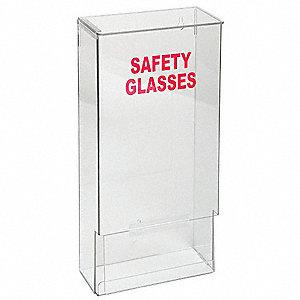 grainger approved saf glss and goggles disp w lid stk clr