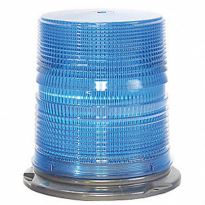 Lo Profile Strobe,Bl,Flange,6 11/16 In.