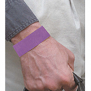Wristband,Purple,Numbered,PK500