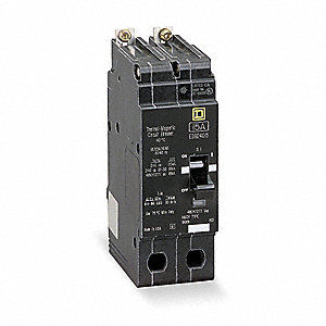 Bolt On Circuit Breaker, 30 Amps, Number of Poles:  2, 277/480VAC AC Voltage Rating