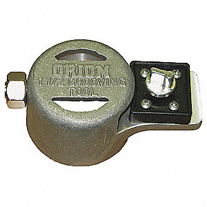 Mechanical Joint Grooving Tool,1 1/2 In