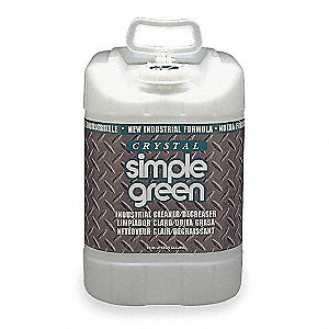 Unscented Crystal Cleaner Degreaser, 5 gal. Pail