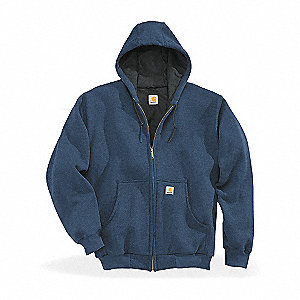 Hooded Swtshrt,Navy,50% Cotton/50% PET,M
