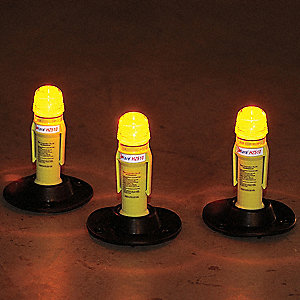 Landing Zone LED Flare Kit,Amber/Blue