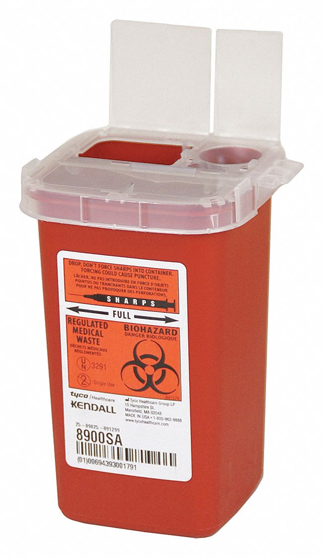 Covidien Sharps Container 1 4 Gal Red Pk10 3ute4