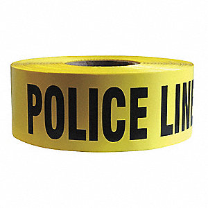 Barricade Tape, Police Line Do Not Cross