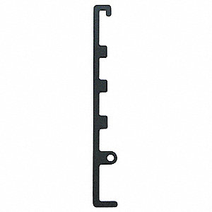 Fixed Position Locking Bar, Steel, For Use With Mfr. No. VG-1000, VG-4000, 1 EA