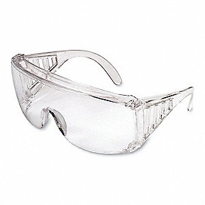 Safety Glasses,Clear,Uncoated,PK12