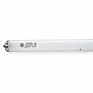 "Linear Fluorescent Lamp, Single Pin (Fa8) Base Type, 96"" Length, 12,000 hr. Average Life"