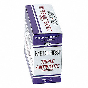 Triple Antibiotic Ointment, Application: Itch Relief, Size: 0.5g, Packet Package Type