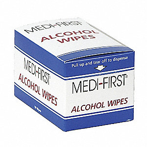 "Alcohol Pads, 2"" x 1-1/8"" Packet"