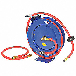 AirHoseReel,15x6.75x16in,Hose 3/8inx25ft
