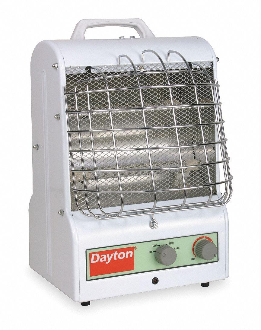 Dayton Port Elec Heater 1500 W 5120 Btuh 3vu31 3vu31