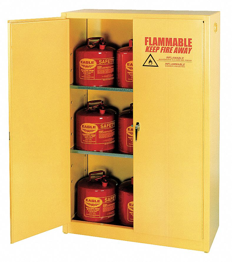Eagle 45 Gal Flammable Cabinet Manual Safety Cabinet
