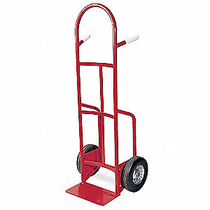 "Stair Climbing Hand Truck, Continuous Frame Dual Pin, 500 lb., Overall Width 20"", Overall Height 50-"