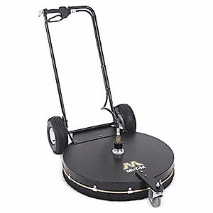 "Rotary Surface Cleaner with Handles, 28"" Cleaning Path, 4000 psi Max. Operating Pressure, 3 to 10 gp"
