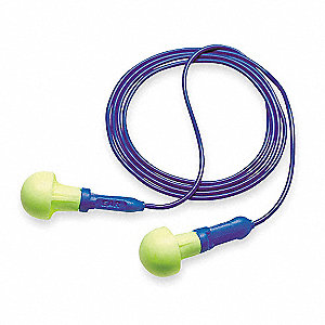 Ear Plugs,28dB,Corded,Univ,PK100