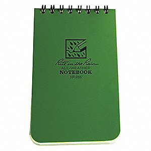 All Weather Memo Book,Universal,3 x 5 In