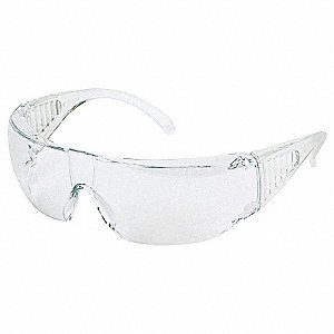 Safety Glasses,Clear,Scrtch-Rsstnt,PK12