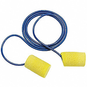 Ear Plugs,29dB,Corded,Univ,PK5