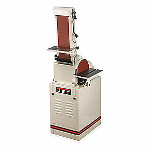 Belt/Disc Sander,10 In Disc,6 x 48 Belt