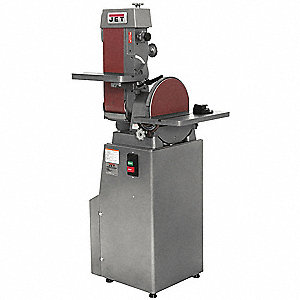 Belt/Disc Sander,12 In Disc,6 x 48 Belt
