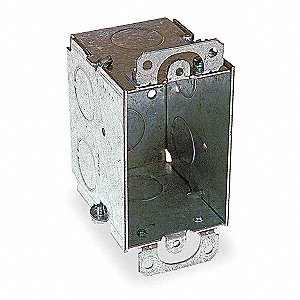 Electrical Box,Switch,3x2x2-1/2 in.