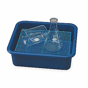 Laboratory Tray,4-3/4 In. H,14-3/8 In. D