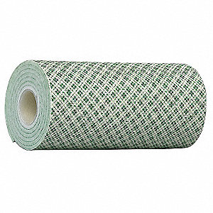Double Coated Tape,12 In x 5 yd.,Natural