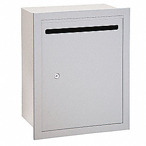 Letter Box,Alum,Recessed