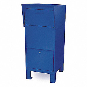 Courier Box,Blue